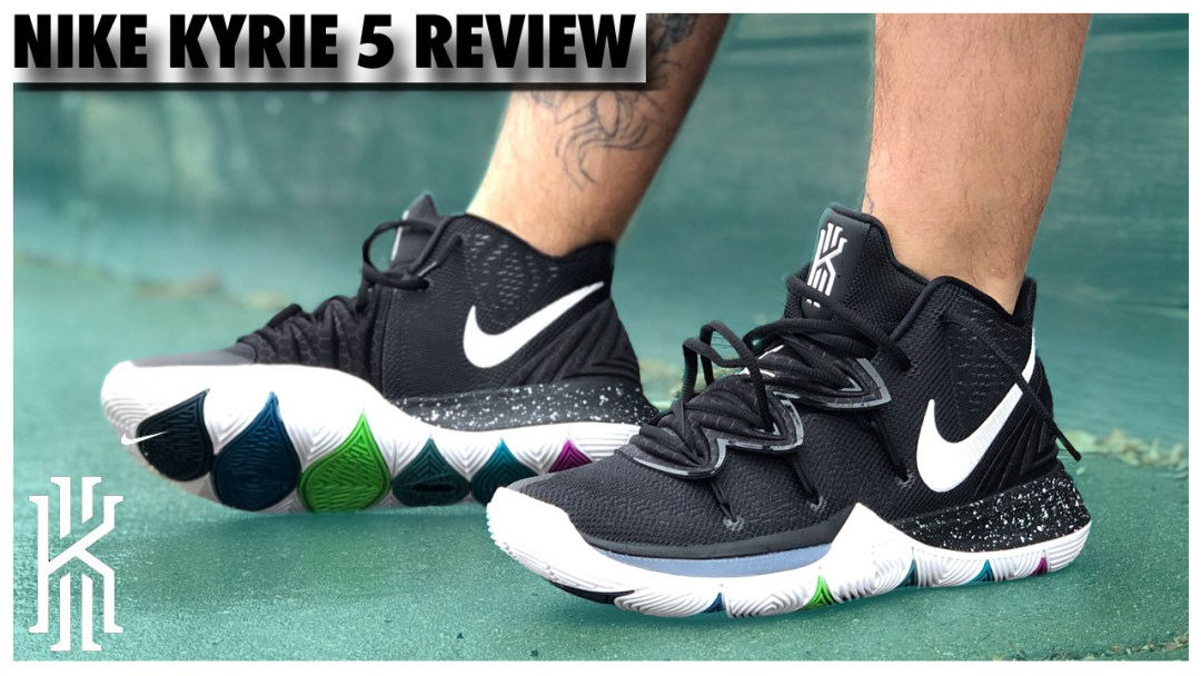 quality design 0cd0b 725f8 Nike Kyrie 5  BLK MGC  Review - WearTesters