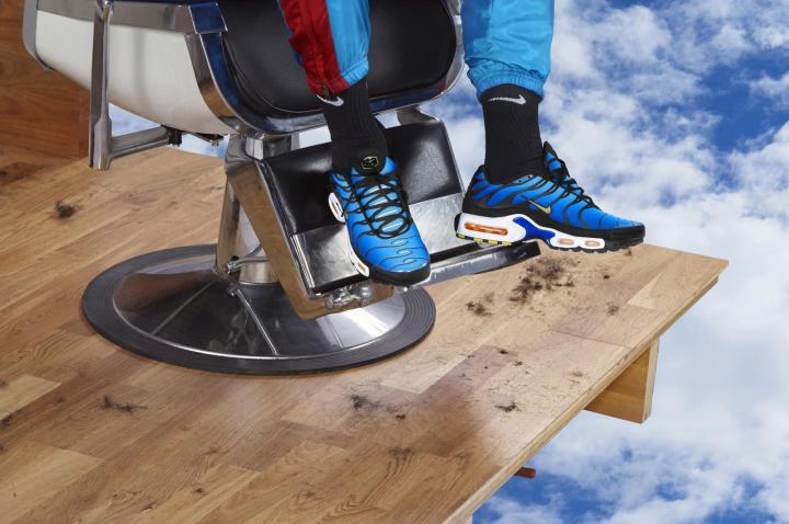 Nike air Max Plus on foot