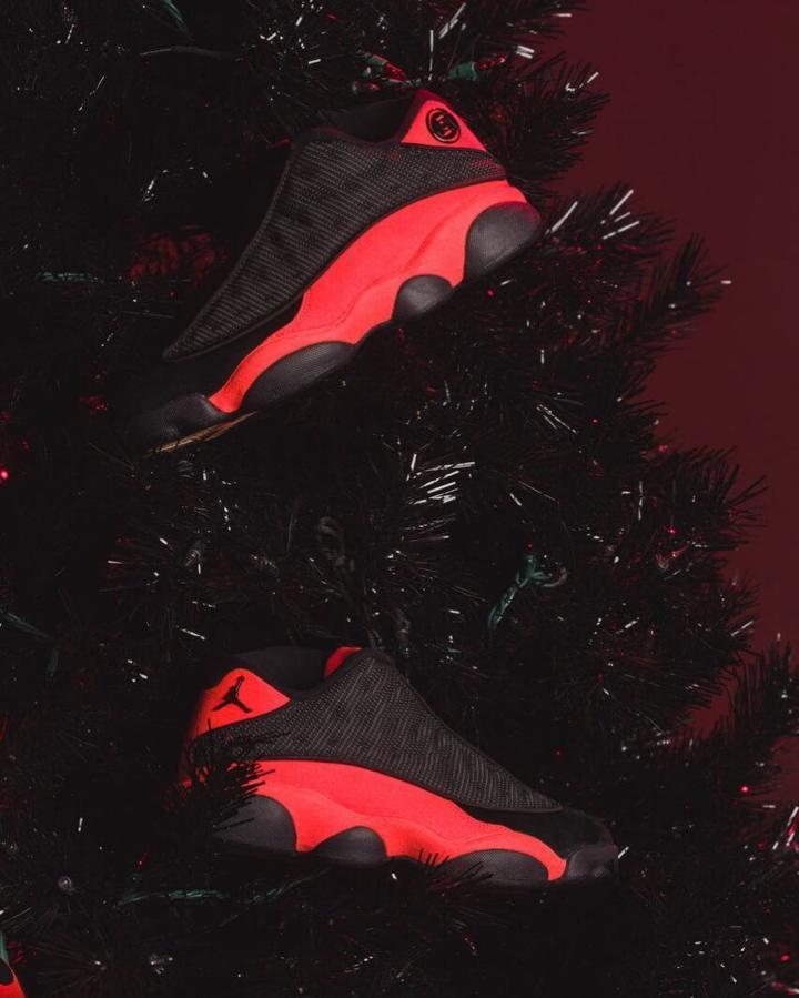 d18c4d25bba6 A Black Red Clot Air Jordan 13 Low Appears - WearTesters