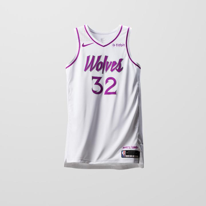 e4fd5c85fda1 Houston Rockets Earned Edition Jersey. Minnesota Timberwolves Earned  Edition Jersey