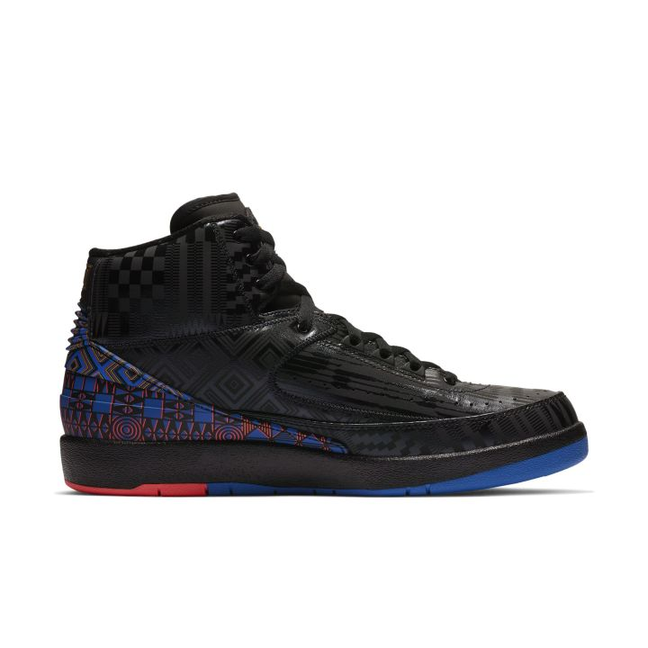 AIR JORDAN 2 RETRO BHM BLACK:METALLIC GOLD 4