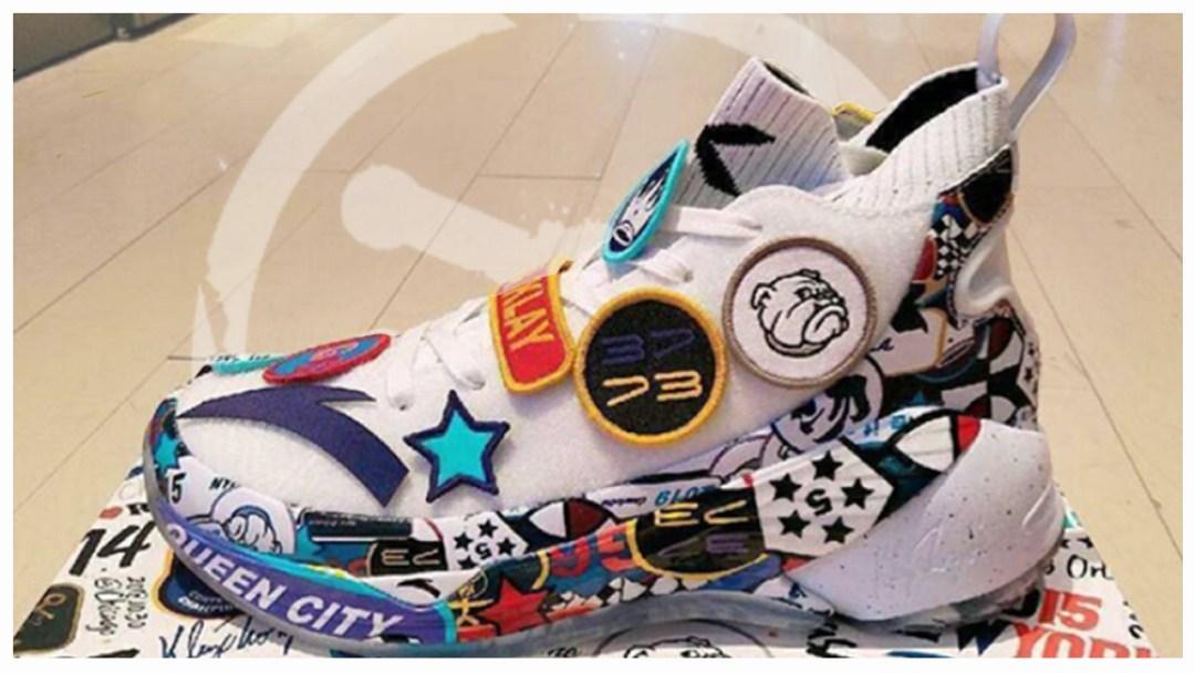 5f89ec7de223 A Look at Klay Thompson s ANTA KT4 All-Star Shoe - WearTesters