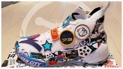 bda24791e93 A Look at Klay Thompson s ANTA KT4 All-Star Shoe