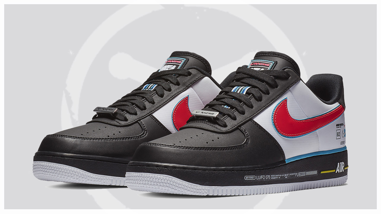 Nike Unveils Air Force One Low Inspired By Charlotte Motor Speedway ... e2b067d803