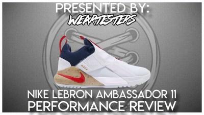 2bcc8828a64 Nike LeBron Ambassador 1 1 Performance Review
