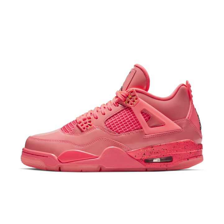 WMNS AIR JORDAN 4 RETRO NRG HOT PUNCH:BLACK-VOLIGHT 3