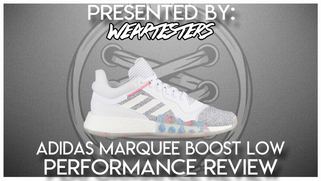 new style 07db5 53964 adidas Marquee Boost Low Performance Review   Jalique Gabay ...