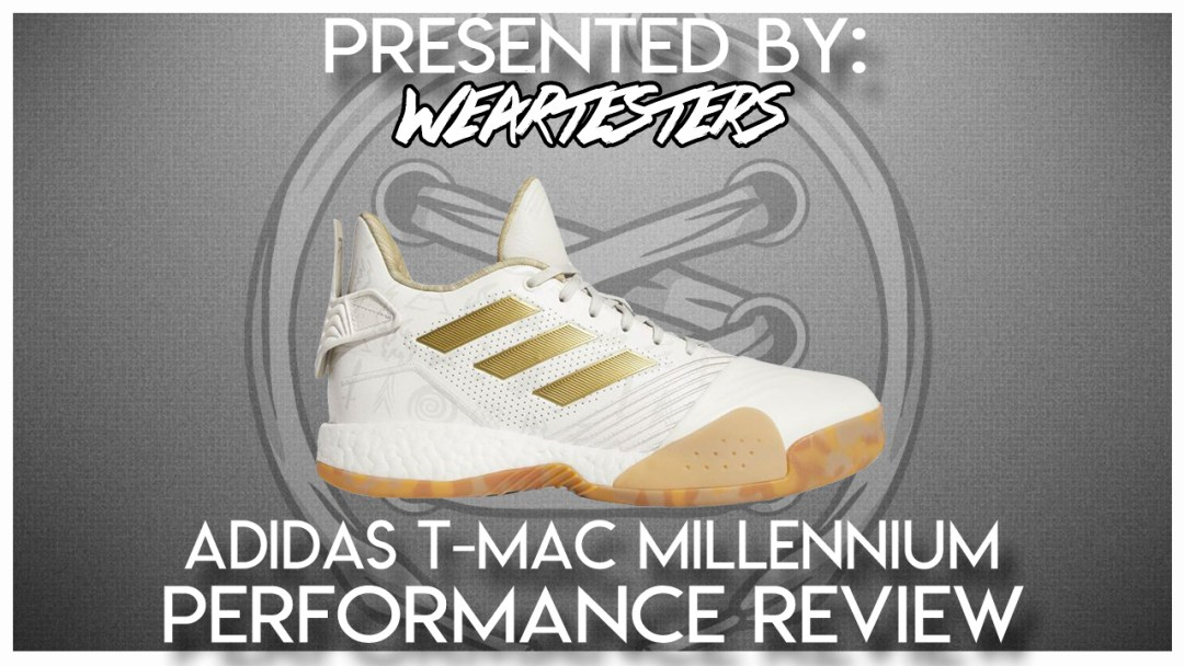 16230f51baef adidas T-Mac Millennium Performance Review - WearTesters
