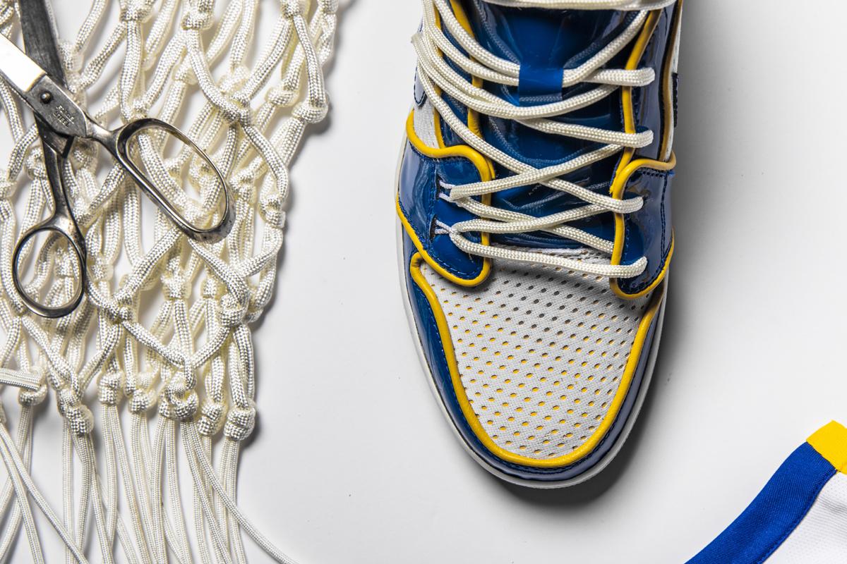 Ngắm nhìn siêu phẩm Champion Tradition, mẫu Air Jordan 1 mừng 6 danh hiệu của Golden State Warriors