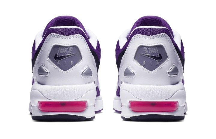 reputable site 6df73 5ea06 The Nike Air Max2 Light Appears in Purple Pink - WearTesters