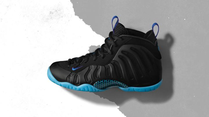 5a3e46a845e45 This Nike Little Posite One is Inspired by the Charlotte Hornets ...