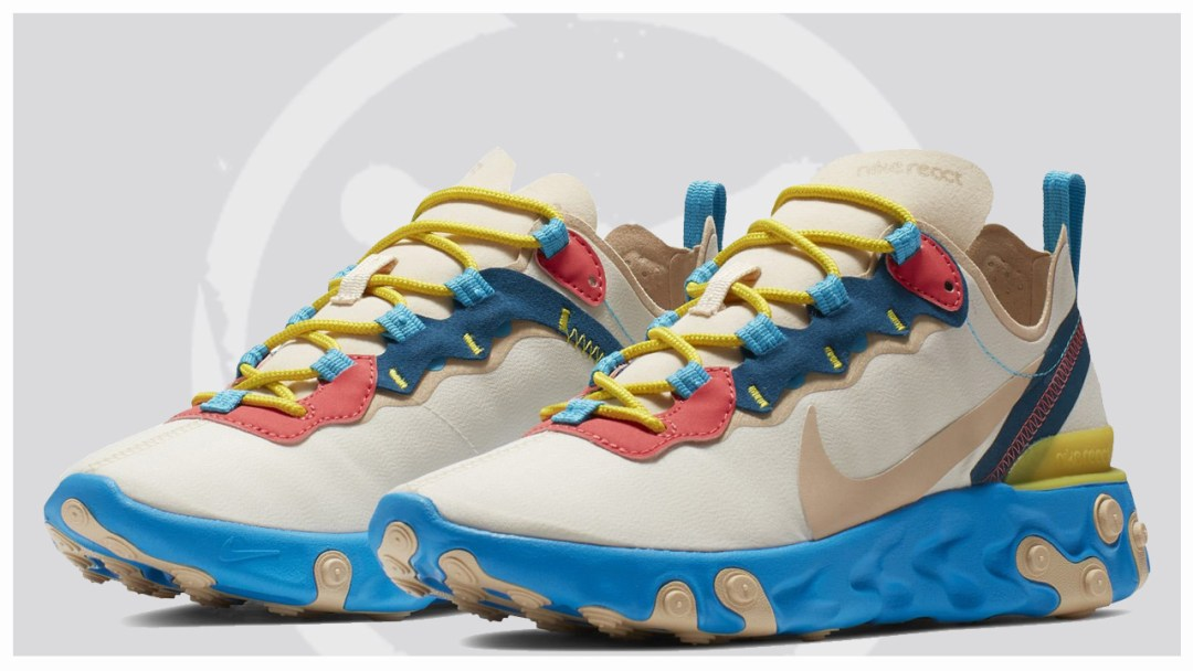 47547f0e945 This Bold Nike React Element 55 Colorway Is Coming Soon For The ...