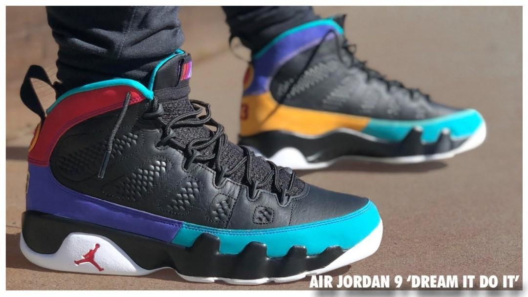 d2267285e Air Jordan 9  Dream It Do It