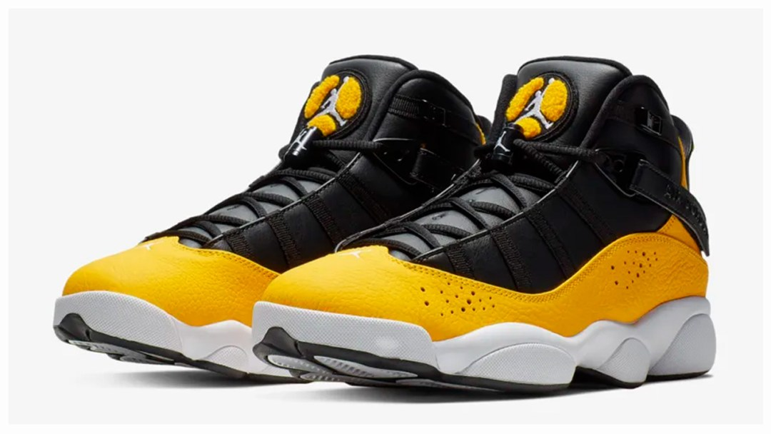 quality design 34a92 b631e The Jordan 6 Rings Appears in University Gold - WearTesters