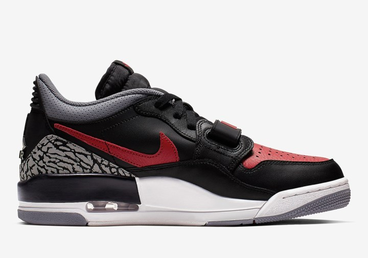 65cb9f2472f3 An Official Look at the Jordan Legacy 312 Low  Bred  - WearTesters
