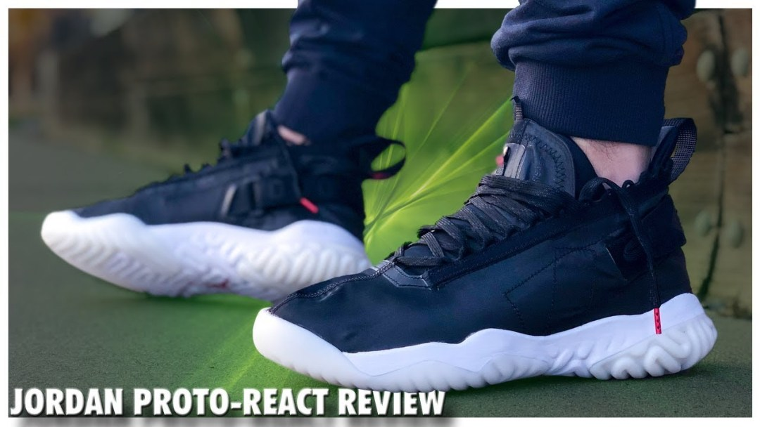 new arrivals b08ee a8185 Thoughts and Review on the Jordan Proto-React - WearTesters