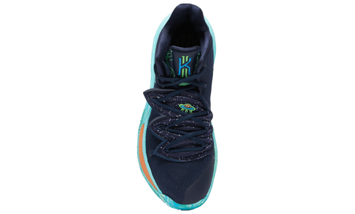 NIKE KYRIE 5 BLUE GREEN 4