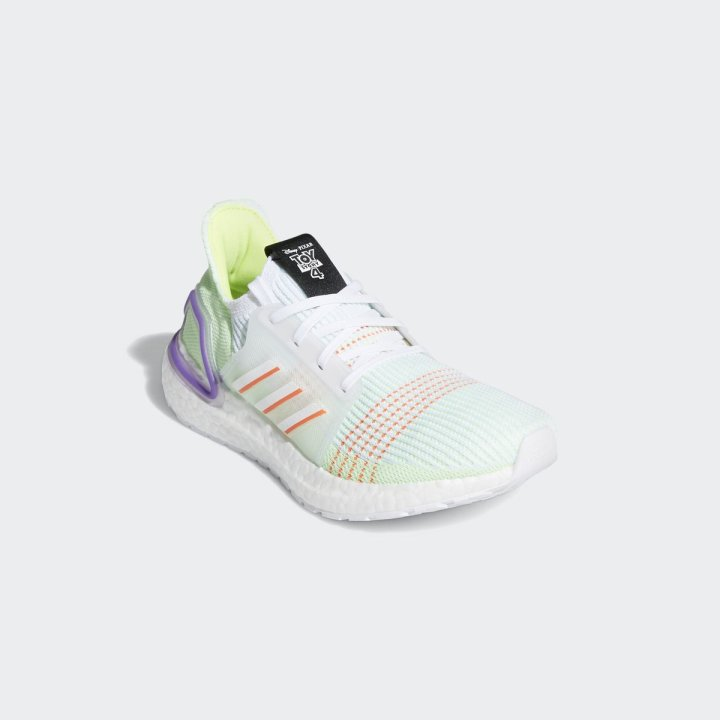 ADIDAS ULTRA BOOST 19 FTWR WHITE:SOLAR RED:SOLAR YELLOW 2