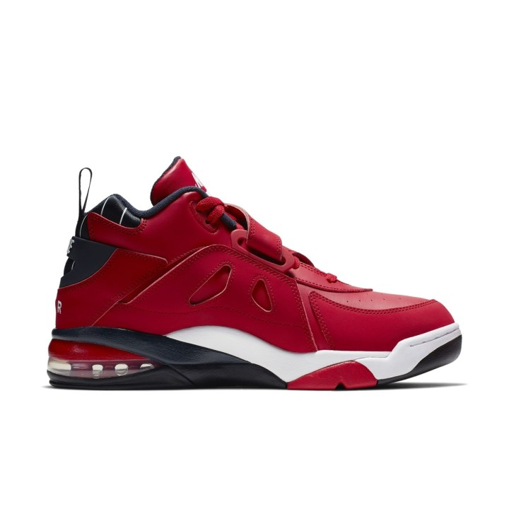 NIKE AIR FORCE MAX CB GYM RED:WHITE:BLACK 4