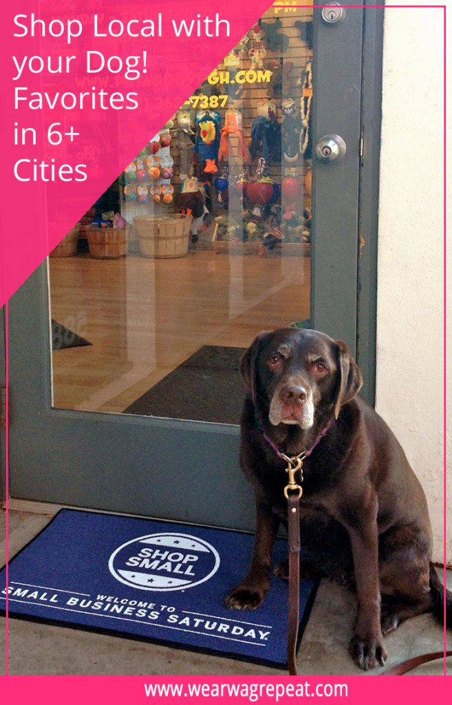 shop local with your dog