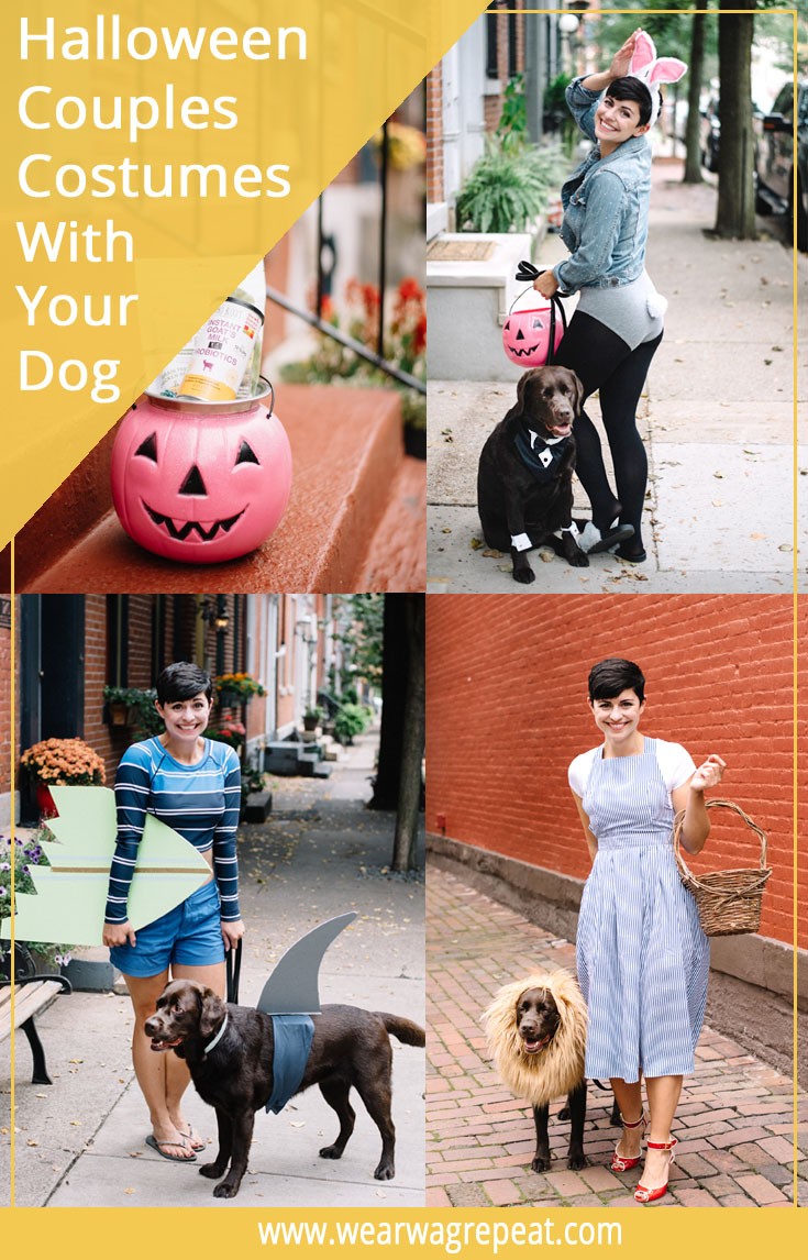 Halloween Couples Costume With Your Dog