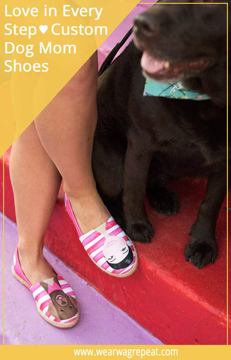 Soulmates Collection Custom Dog Mom Shoes