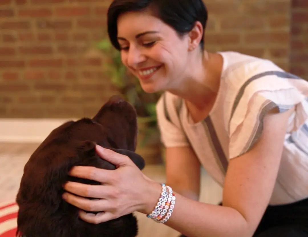 DIY Dog Mom Message Bracelet
