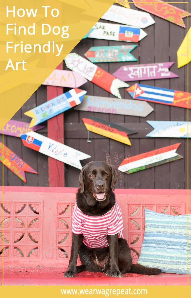 How To Find Art Your Dog Can Get Into