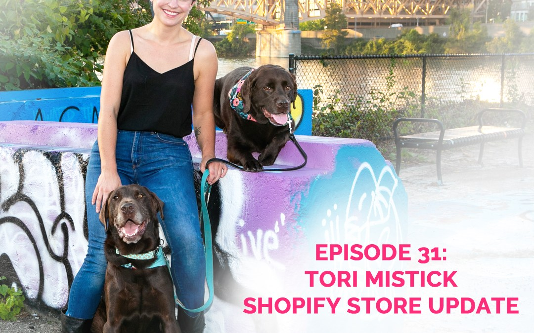 Podcast Episode 31: Update On My Shopify Store