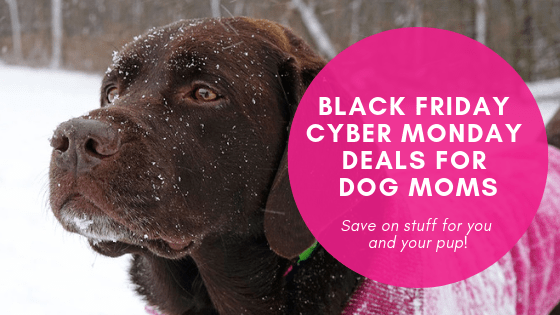 Black Friday Cyber Monday deals for dog moms