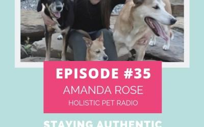 Podcast Episode 35: Staying Authentic with Amanda Rose of Holistic Pet Radio