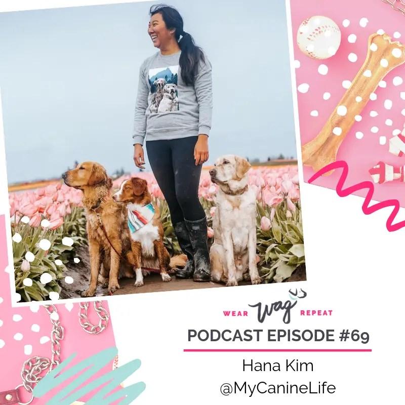 Hana Kim of MyCanineLife, dog instagram influencer