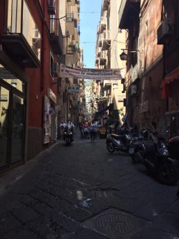 Daytime alley in Naples