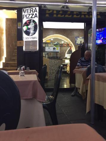 Street side Restaurant