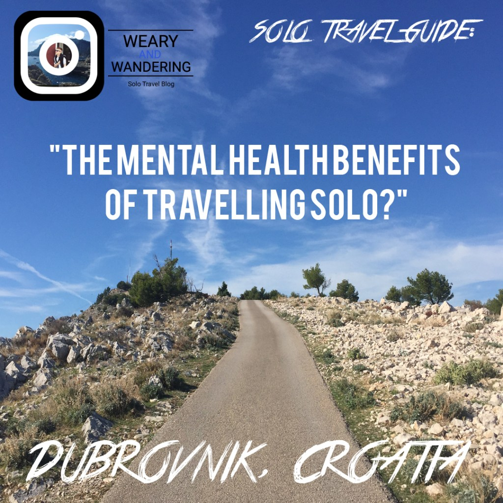 Does Travelling solo, have Mental Health benefits?
