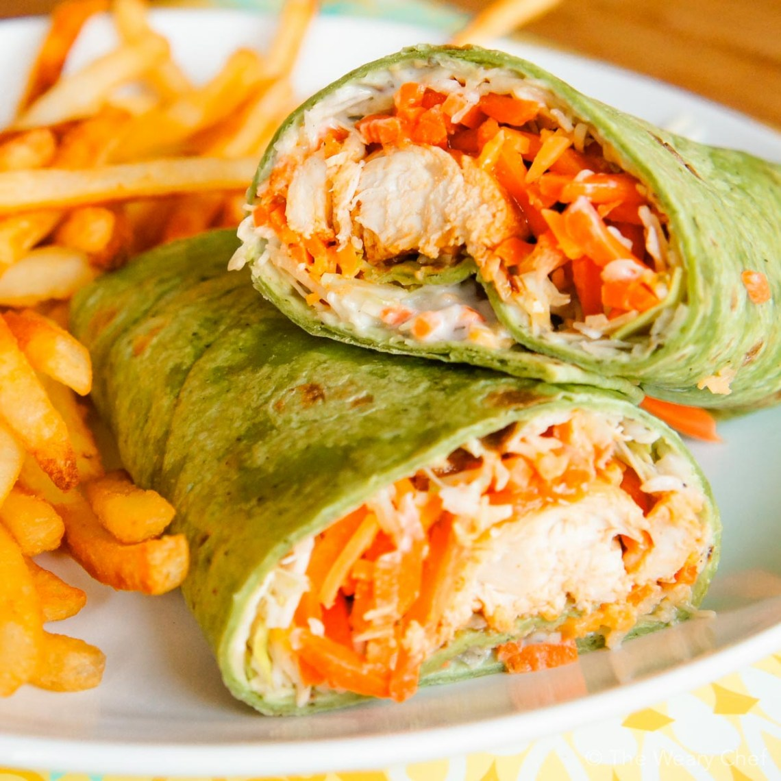 Buffalo Chicken Wraps: A fun and tasty dinner idea! - The ...