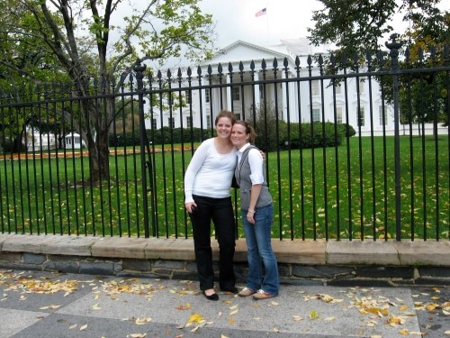 Me and Lise in D.C., circa 2006ish