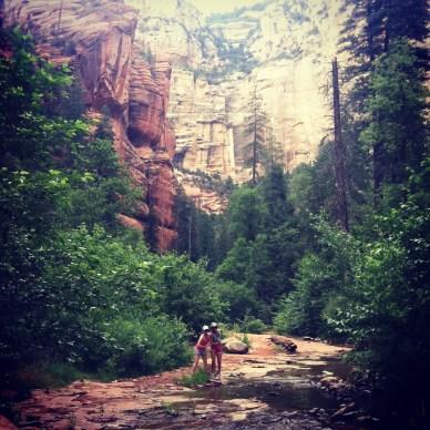 ^^Sedona hike--unbelievable.