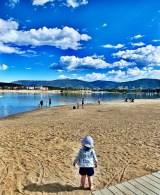 taking in the frisco bay marina scenery