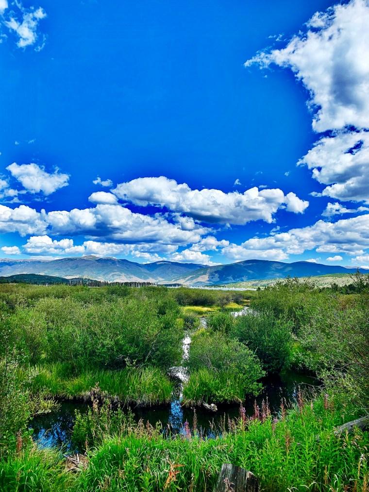 frisco, colorado mountain views
