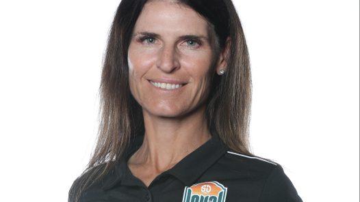 Coach Carrie Taylor of San Diego Loyal