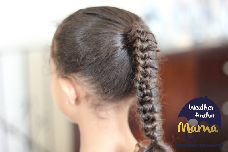 CHINESE STAIRCASE PONYTAIL braid MIXED HAIR CARE BIRACIAL HAIR CARE CURLY HAIRSTYLES 1