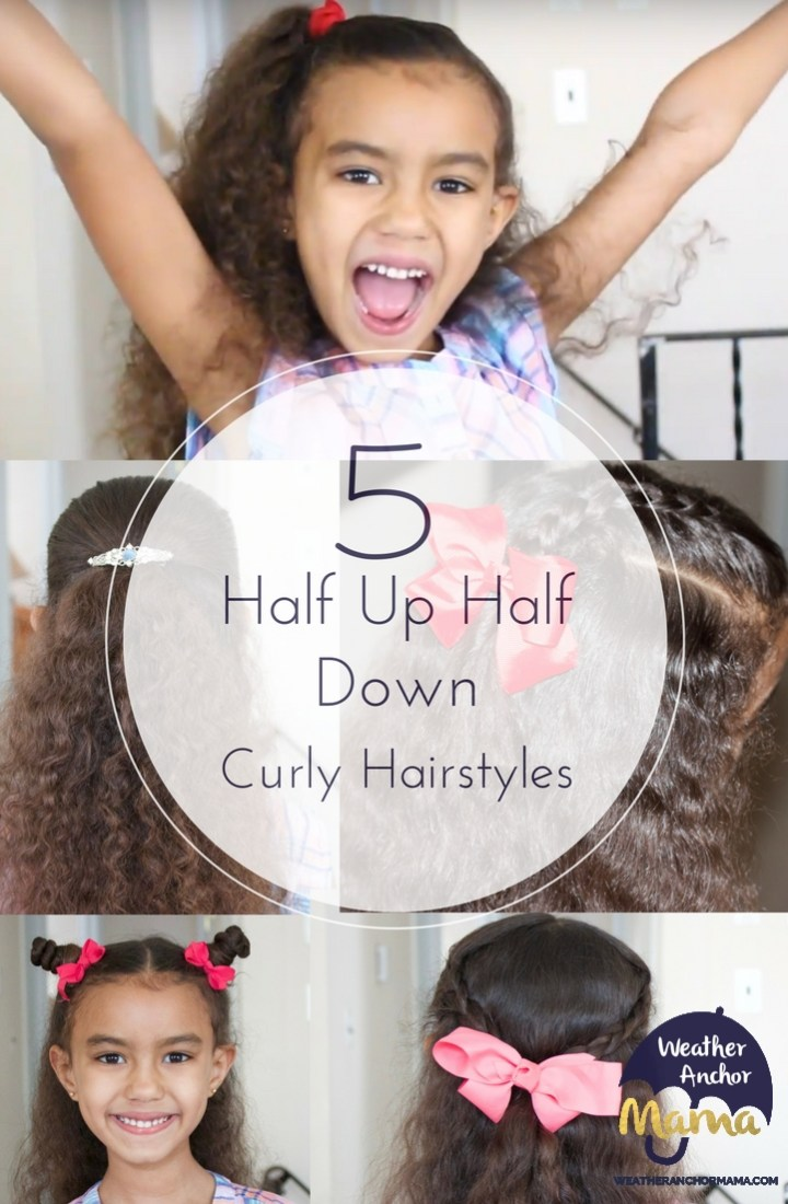 Tips For Dads How To Style Kids Curly Hair Weather Anchor Mama