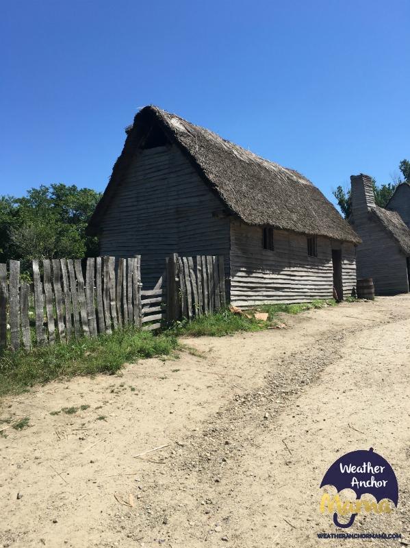 17th century pilgrim house plimoth plantation family vacation