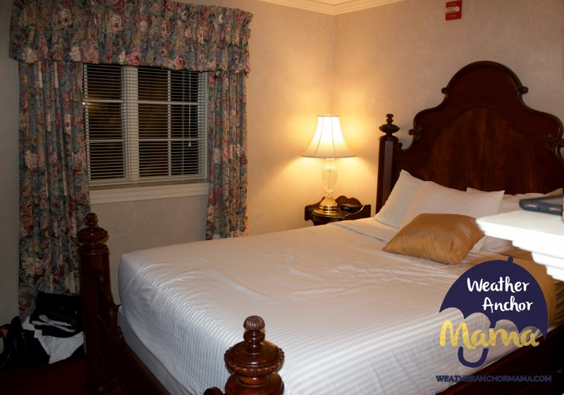 Family Vacation John Carver Inn and Spa Plymouth Massachusetts Bedroom suite