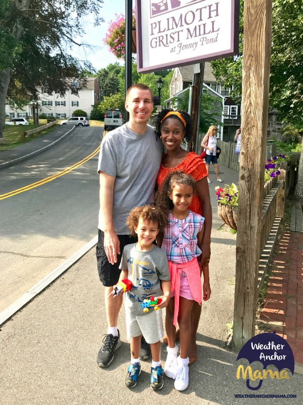 Family Vacation Plimoth Grist Mill Multiracial family Interracial couples