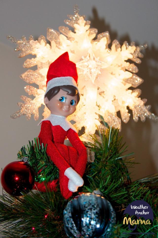 Christmas traditions elf on the shelf