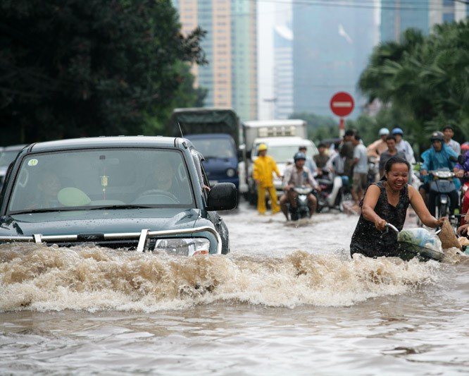 Natural Disaster Heavy Rains Can Cause Flooding