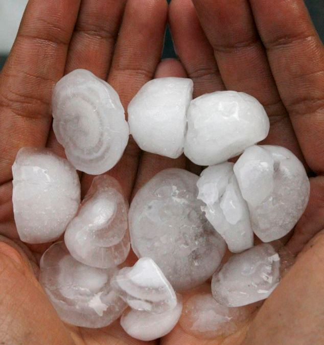 Hail! the Hidden Danger Within the Storm