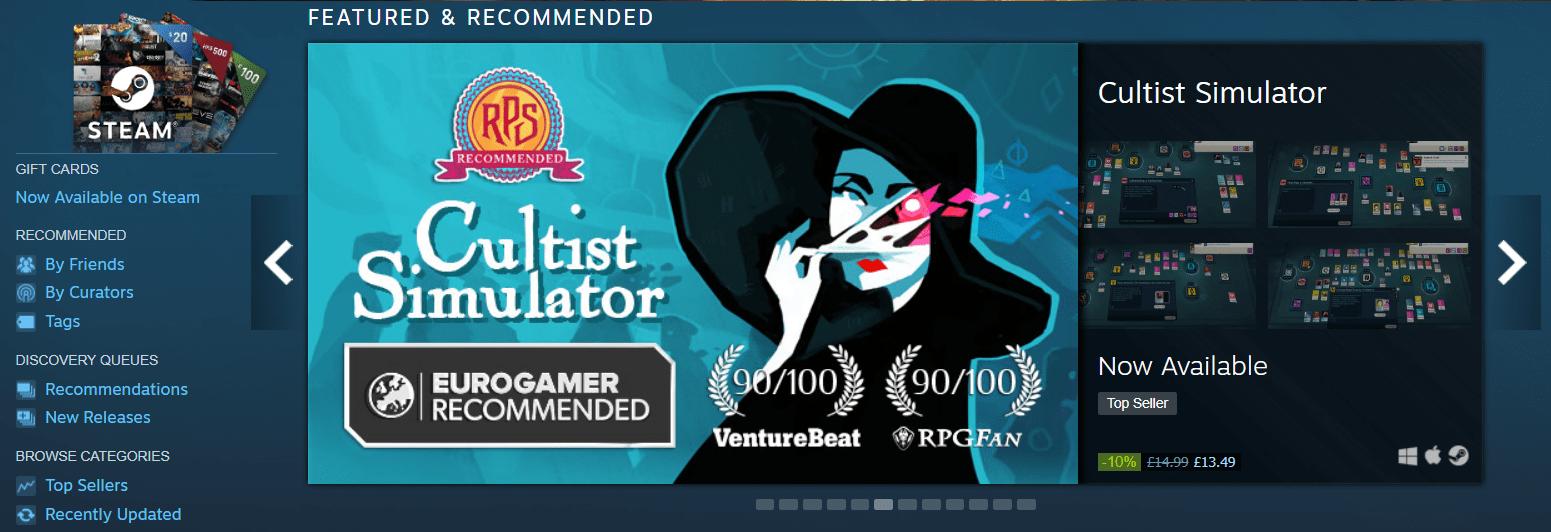 Cultist Simulator: the retrospective
